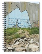 Peace Messages Spiral Notebook