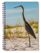 Peace On The Beach Spiral Notebook