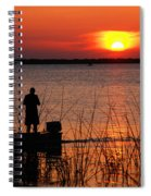 Peace Over The Water Spiral Notebook