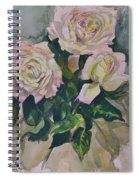 Peace Rose Spiral Notebook