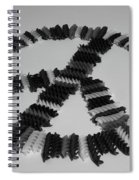 Peace Sign # Spiral Notebook
