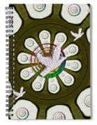 Peacedoves Bringing Peace To The Earth Spiral Notebook