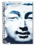 Peaceful Buddha 2- Art By Linda Woods Spiral Notebook