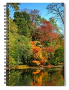 Peaceful Calm - Allaire State Park Spiral Notebook
