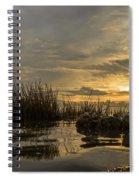 Peaceful Clouds Spiral Notebook