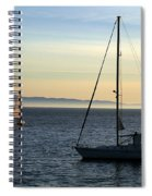 Peaceful Day In Santa Barbara Spiral Notebook