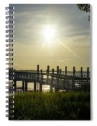 Peaceful Evening At Cooper River Spiral Notebook