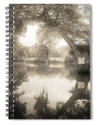 Peaceful Evening Spiral Notebook