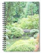 Peaceful Garden Space Spiral Notebook