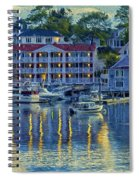 Peaceful Harbor Spiral Notebook