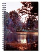Peaceful In Infrared No1 Spiral Notebook