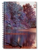 Peaceful In Infrared No2 Spiral Notebook