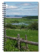 Peaceful Intrigue Spiral Notebook