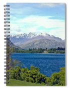 Peaceful Lake -- New Zealand Spiral Notebook