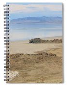 Peaceful Moments By The Salt Lake 4 Spiral Notebook