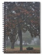 Peaceful Morning Mist Spiral Notebook