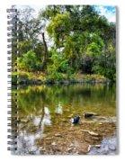 Peaceful Morning On Cibolo Creek Spiral Notebook
