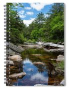 Peaceful Morning On The Peterskill Spiral Notebook