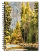 Peaceful Mountain River Spiral Notebook