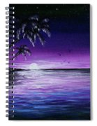 Peaceful Night Spiral Notebook