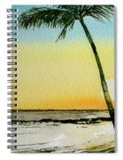 Peaceful Palms Spiral Notebook