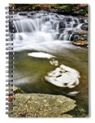 Peaceful Pool Waterfall Spiral Notebook
