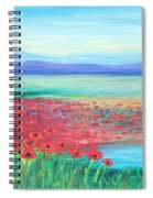 Peaceful Poppies Spiral Notebook