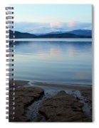 Peaceful Priest Lake Spiral Notebook