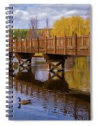 Peaceful Reflections At Drake Park Spiral Notebook