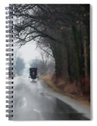 Peaceful Road Spiral Notebook