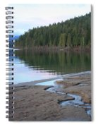 Peaceful Spring Lake Spiral Notebook