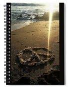 Peaceful Sunrise  Spiral Notebook