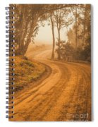 Peaceful Tasmania Country Road Spiral Notebook
