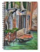 Peaceful Venice Canal Spiral Notebook