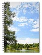 Peaceful View - Bradfield Park 18-37 Spiral Notebook