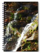 Peaceful Waterfall Spiral Notebook