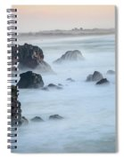 Peach Sky At Arched Rock Spiral Notebook