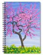 Peach Tree, Painting Spiral Notebook