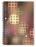 Peach Windows Spiral Notebook