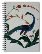 Peackok Spiral Notebook