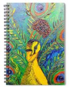 Peacock Blue Spiral Notebook