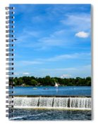 Peacock Dam And Lake Fowler Spiral Notebook