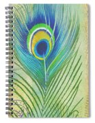 Peacock Feathers-jp3609 Spiral Notebook