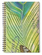 Peacock Feathers-jp3610 Spiral Notebook