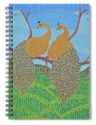 Peacock Love Spiral Notebook
