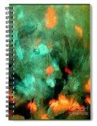 Peacock Rising Spiral Notebook