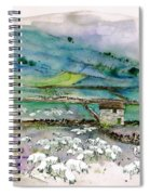 Peak District Uk Travel Sketch Spiral Notebook
