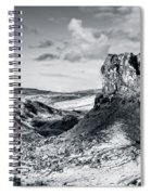 Peak Of Imagination Spiral Notebook