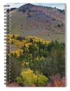 Peak To Peak Highway Boulder County Colorado Autumn View Spiral Notebook