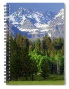 Peaks Spiral Notebook